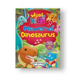 wudi mewarnai dinosaurus